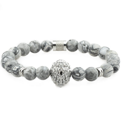 The Lion Bracelet - Silver - Marssos