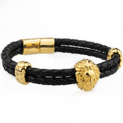The Alpha Bracelet - Gold - Marssos