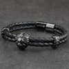 The Alpha Bracelet - Black - Marssos