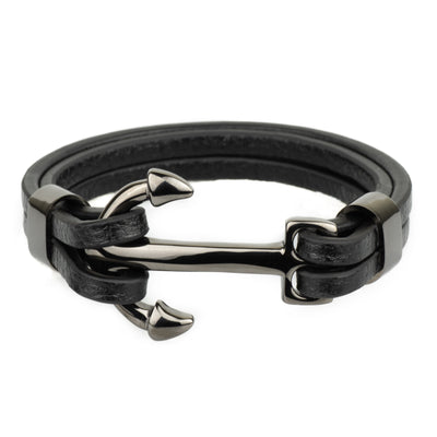 The Anchor Bracelet - Black - Marssos