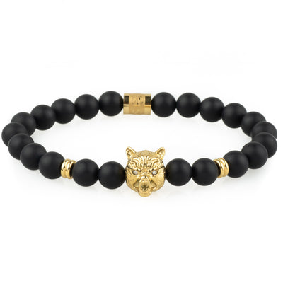 The Wolf Bracelet - Gold - Marssos