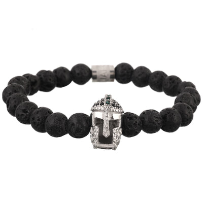 The Gladiator Bracelet - Silver - Marssos