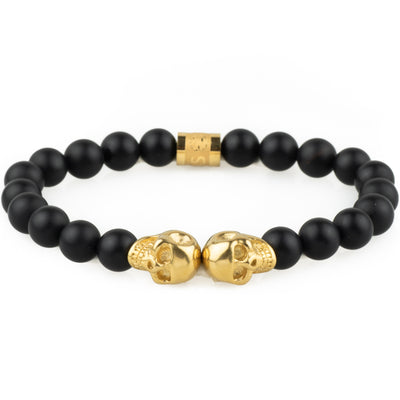 The Mortem Bracelet - Gold - Marssos