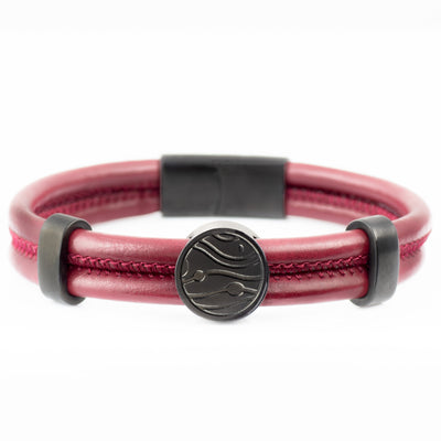 The Rune Bracelet - Red - Marssos