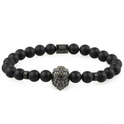 The Lion Bracelet - Black - Marssos