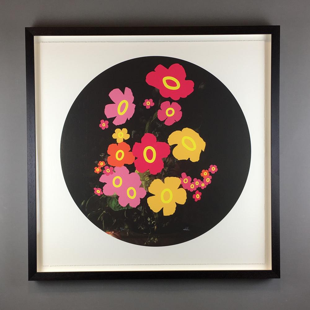 Wall Art - Heath Kane - Wallflowers - Limited Edition - Framed