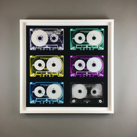 Wall Art - Heilder & Heeps - Tape Collection - Limited Edition - Framed