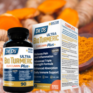 Dr. D's Ultra BioTurmeric: Whole Root Nutrition