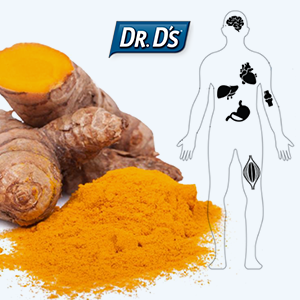 Dr.D's Health Benefits of Turmeric Infographic