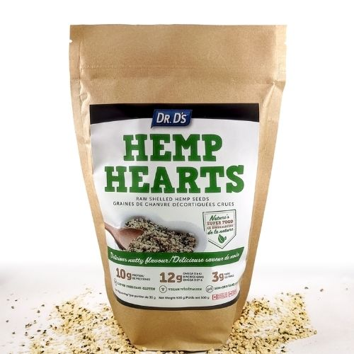 Dr. D's Hemp Hearts!