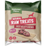 NM Raw Meaty Beef Chews Natures Menu  code bmc