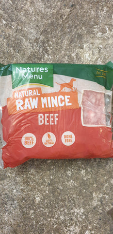NM All Beef Mince 400g  Natures Menu  abf