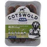 CW Minced Lamb sausages 80/20 Active Range 500g Cotswold Raw sau3015