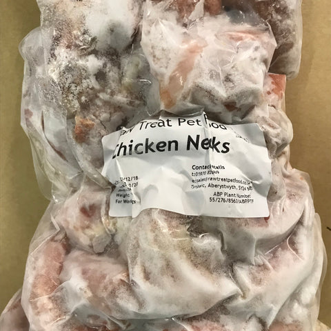 RT Raw Whole Chicken Necks 2Kg bone Raw Treat Brand