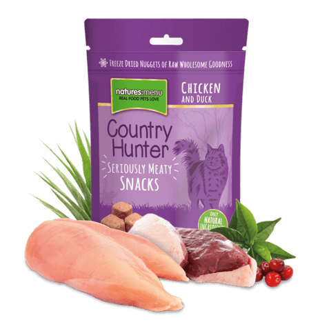 NM Country Hunter Freeze dried Cat snacks Chicken & Duck  40g  sku nmctd