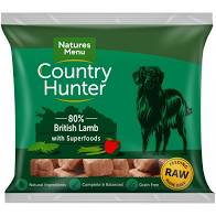 NM Country Hunter Dog Nuggets Lamb with fruit and veg Natures Menu sku chnl