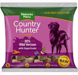 NM Country Hunter Dog Nuggets Venison  Natures Menu  code nmnvb