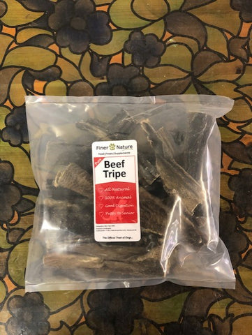 FINER BY NATURE TREAT BEEF TRIPE STICKS DRIED 250g