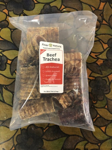 FINER BY NATURE TREAT BEEF TRACHEA CUT 250g