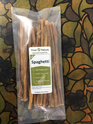 FINER BY NATURE TREAT PIGS INTESTINE (SPAGHETTI) 125g