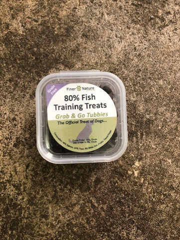 FINER BY NATURE  80% Fish Training treat 150g TUB