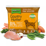 NM  Country Hunter raw superfood Nuggets Turkey & Goose 1kg sku chntg