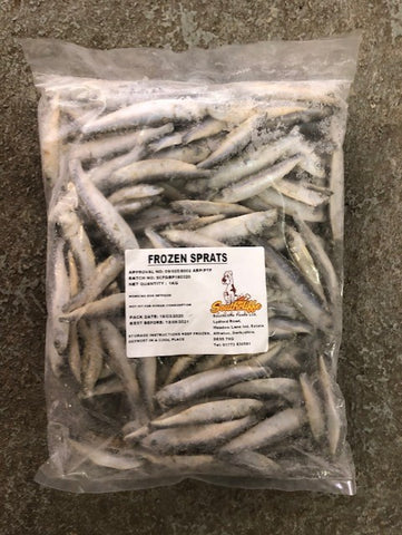 SPRATS (WHOLE FISH) 1kg Southcliffe brand