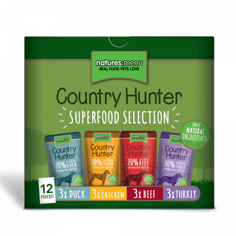 NM Natures Menu Superfood Selection Dog Pouches 12 x 150g chdpf