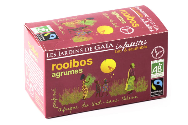 Citrus Fruits Lemon Orange Rooibos Tea Bags