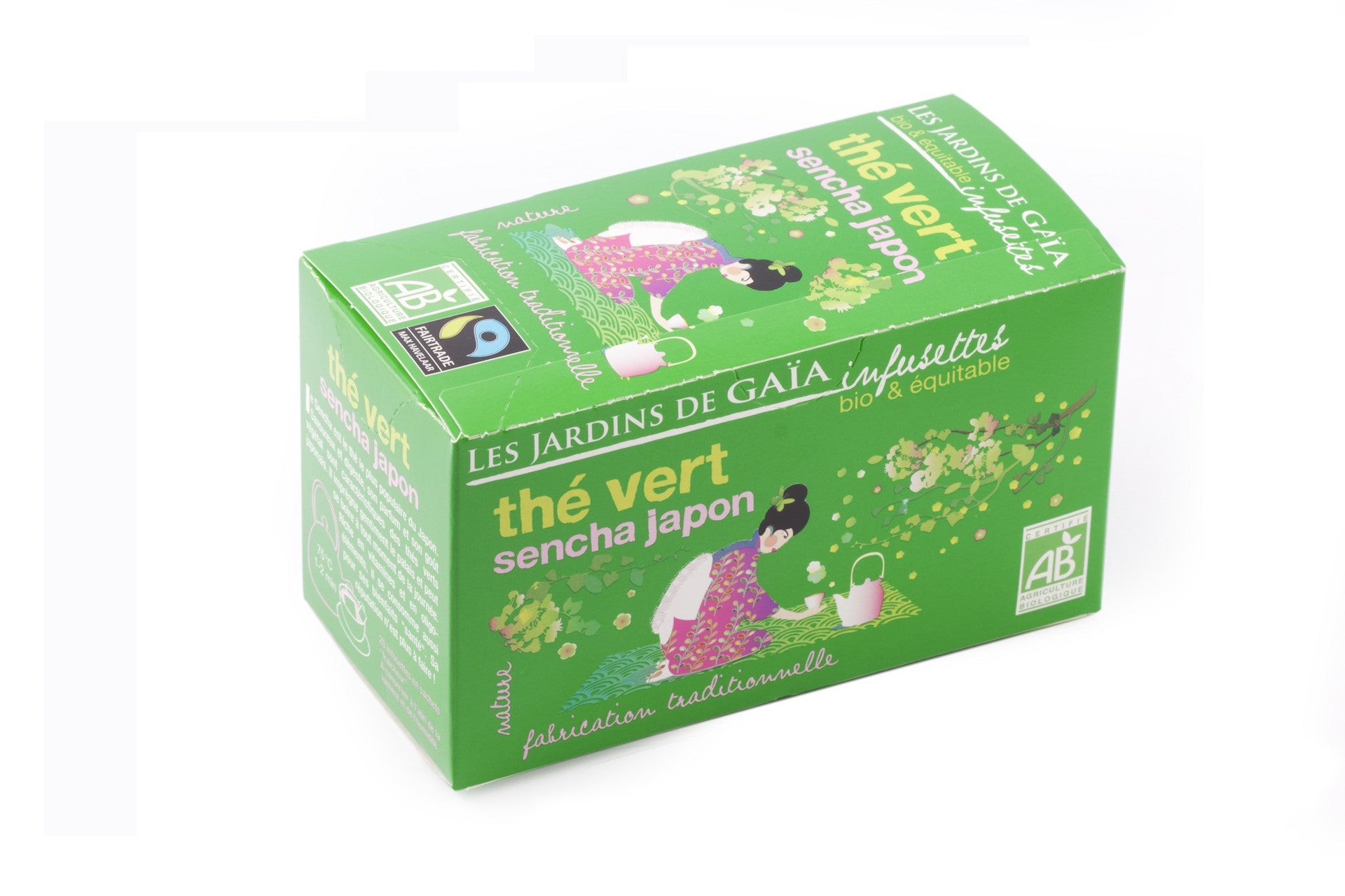 Japanese Sencha Green Tea Bags