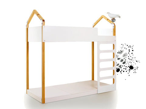 contemporary kids bunk bed
