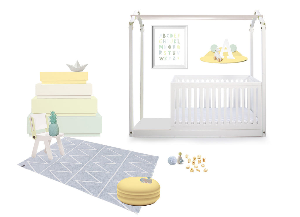 contemporary nursery baby room design