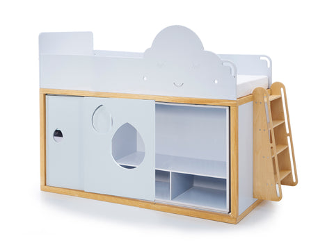 Cloud T Bunk XL with wardrobe