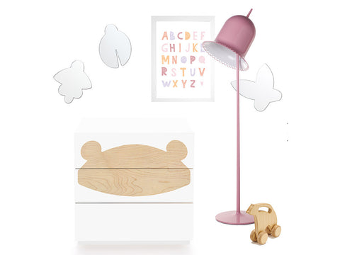 contemporary kids room accessories