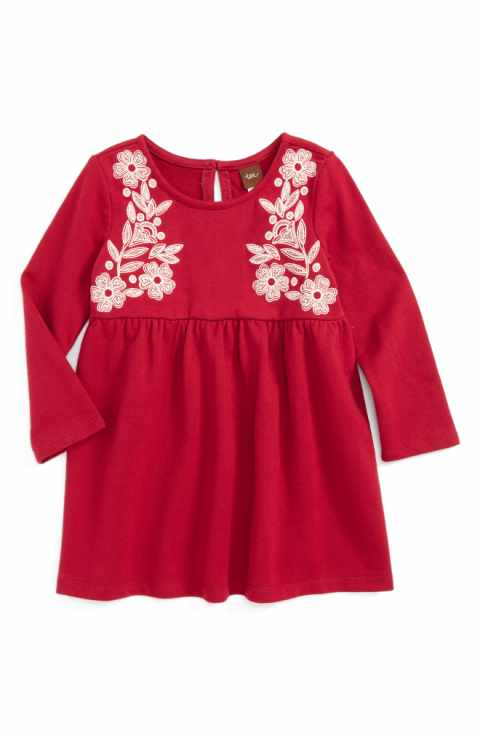 Tea Collection Ailsa Embroidered Dress - Precious + Posh