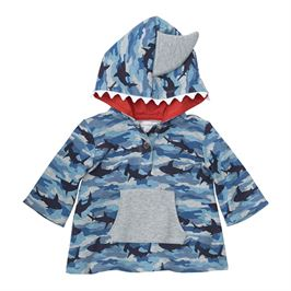 Camo Shark Cover Up - Precious + Posh