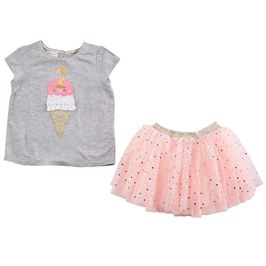 Birthday Confetti TuTu Set #2 - Precious + Posh