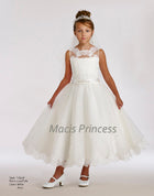 Macis Communion Dress Ivory Size 10