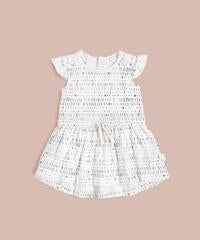 Miles Baby, Miles to Go White Dress 18SM02U113 - Precious + Posh