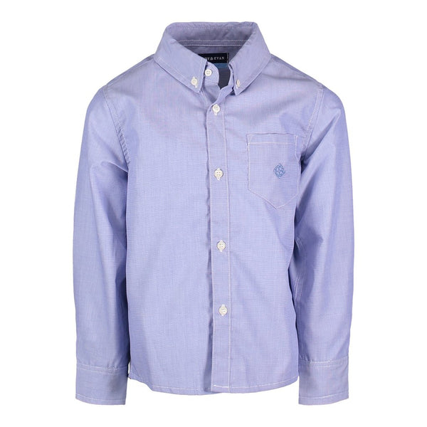 Blue Chambray Shirt - Precious + Posh