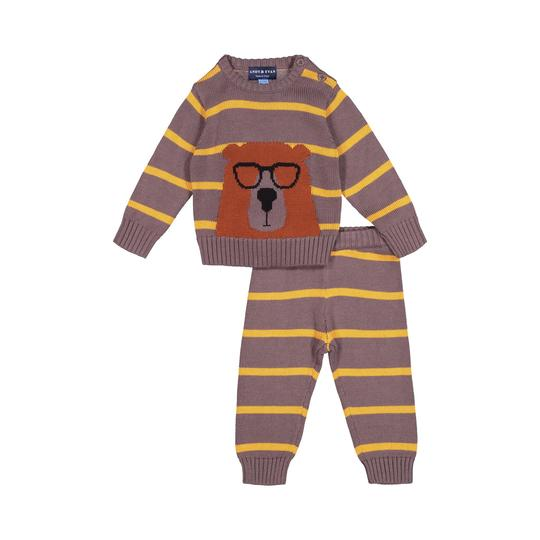 Andy and Evan 3 Piece Bear Set