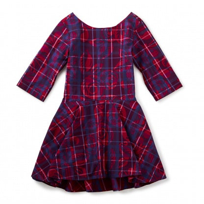 Culzean Castle Ruffled Dress - Precious + Posh