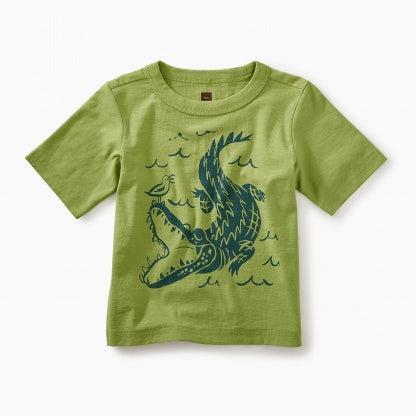 Alligator Graphic Tee - Precious + Posh