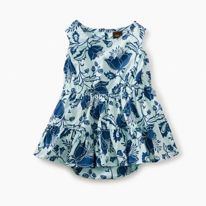 Tea Collection, Tiered Skirt Romper Dress - Precious + Posh