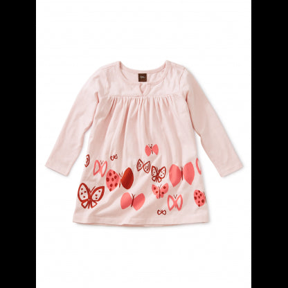 Tea Collection - Butterflies Graphic Baby Dress - Precious + Posh