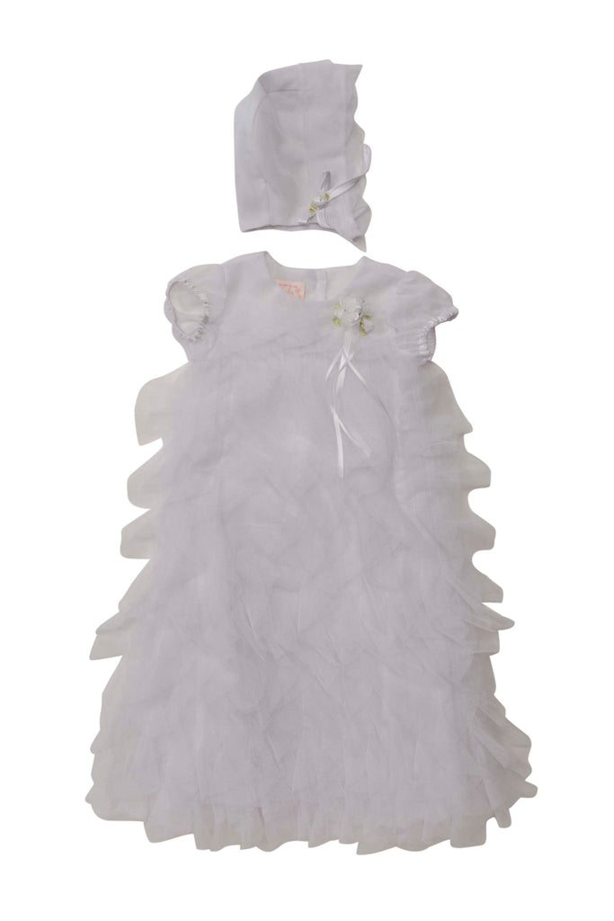 Christening Gown with Hat - Precious + Posh