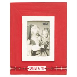 Mud Pie Santa and Me Vertical Frame (4x6 photo)- Precious + Posh