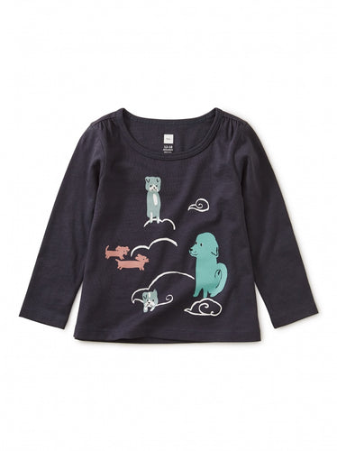 Tea Collection : Animals Clouds Graphic Tee - Precious + Posh