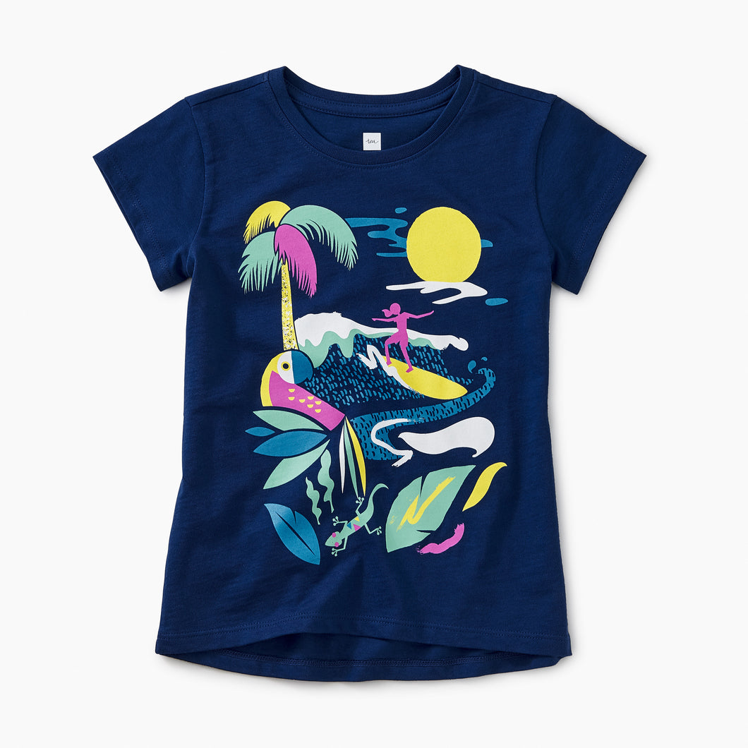 Tea Collection Wave Rider Graphic Tee