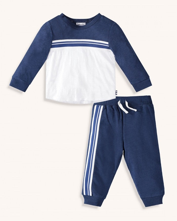 Splendid Baby Boy Striped Taping Set RNS1116